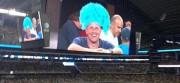Paulie on Cowboy Stadium big screen