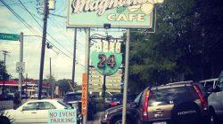 The famous Magnolia Cafe