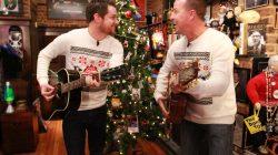 Paulie and Seton form folk-rock band Public Frenemy