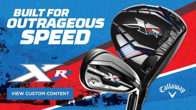 Callaway XR Driver and Irons