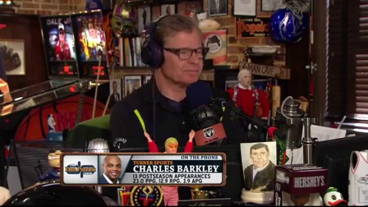 Charles Barkley invites guys to do a show from his AZ house