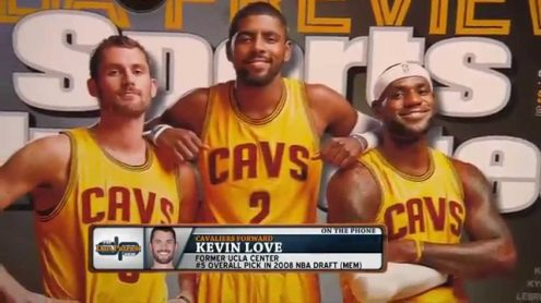 Kevin Love on pros and cons of playing with LeBron, explains new hair style