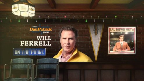 Will Ferrell on 'Danny's Home' and looking back at day in ManCave