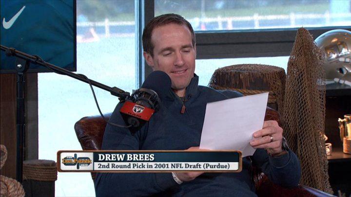 Drew Brees reads negative Draft reviews