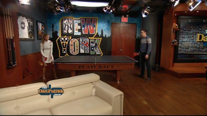McLovin vs. Nina Agdal in Ping Pong