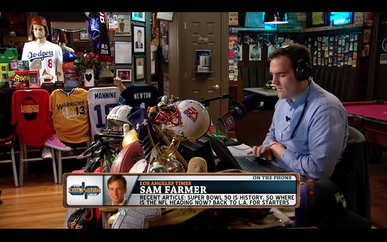 Sam Farmer breaks down issues with second team in L.A.