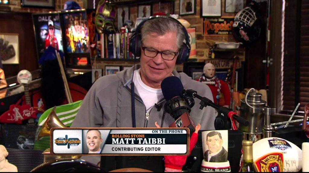 "Matt Taibbi breaks down the ultimate night for NFL ""weed guy"""