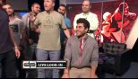 Bros pay off bet by shaving head on DP Show