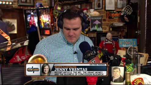 Jenny Vrentas explains NFL side in recent Congressional concussion story
