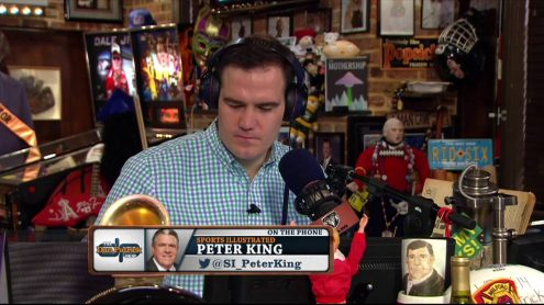 Peter King weighs in on Congressional report on NFL and concussions