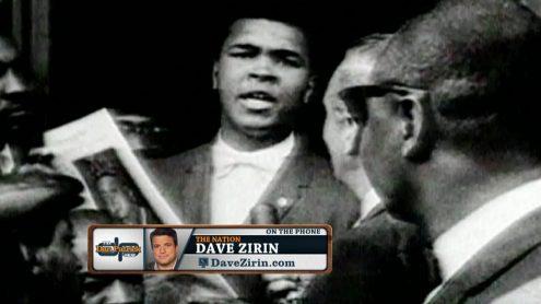 Dave Zirin on influece onf Muhammad Ali's death on current athletes