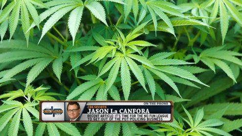Jason La Canfora: NFL should stop testing for marijuana