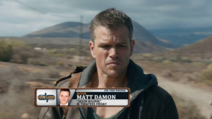 Matt Damon on Jason Bourne, DeflateGate, impact of 2004 Red Sox