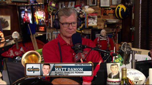 Matt Damon still frustrated by DeflateGate