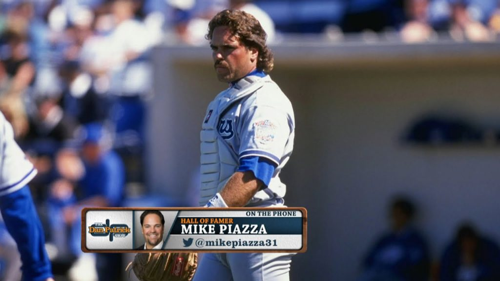 Mike Piazza not embarrassed by frosted tips, mullet