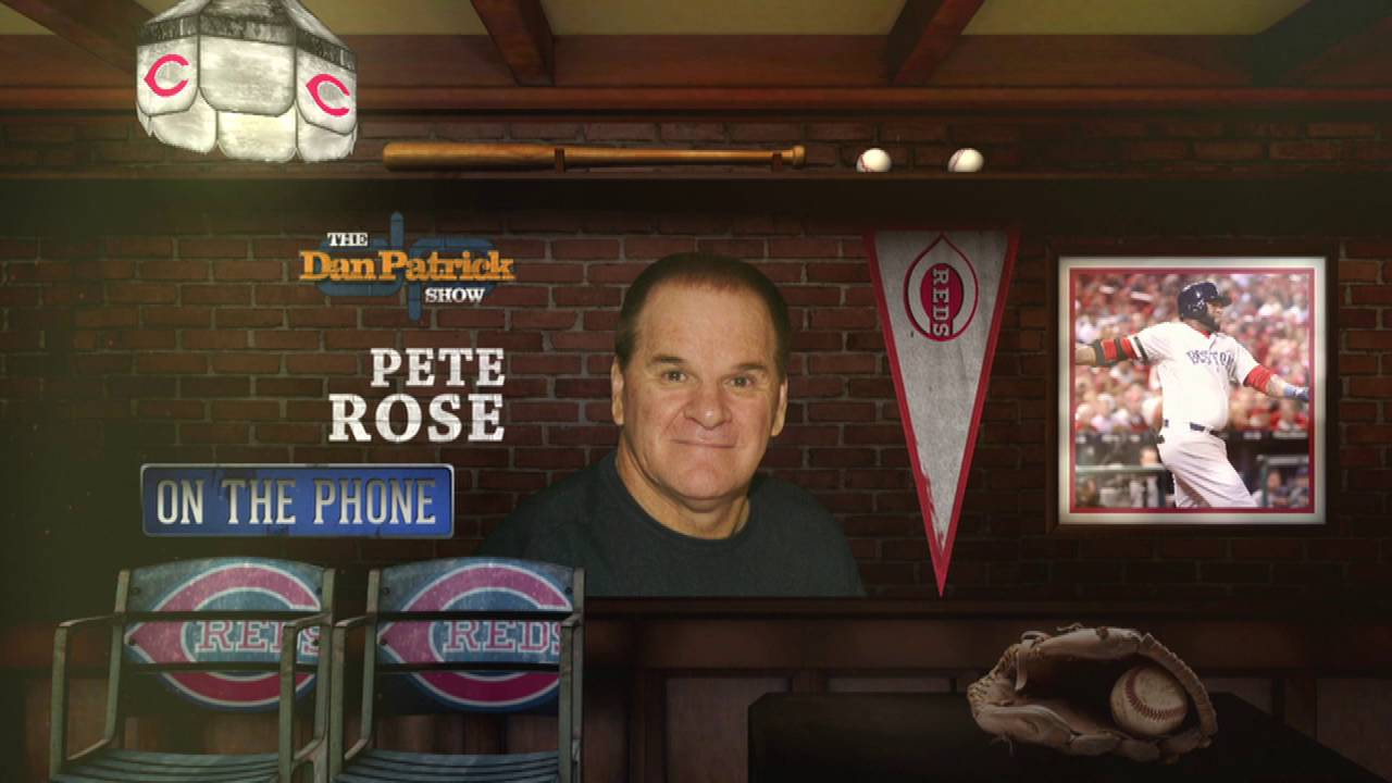 Pete Rose clarifies remarks on Big Papi's Hall of Fame candidacy