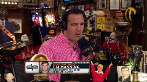 Eli Manning on Sunday Ticket, Peyton's future, preseason