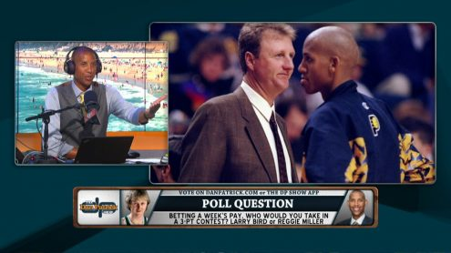 Larry Bird: Yup, I said 'who's coming in second'