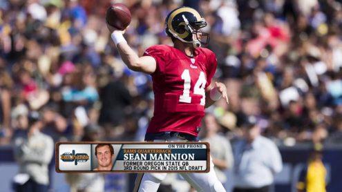 Sean Mannion proves his fandom for the show
