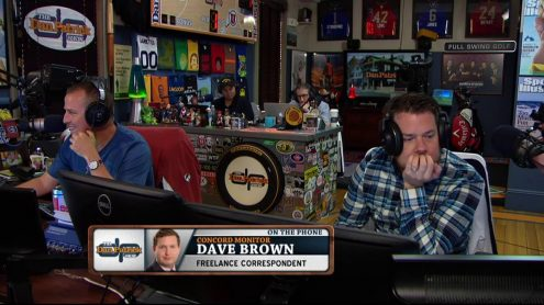 Dave Brown explains how his question drew Belichick's ire