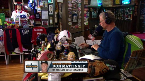 Don Mattingly shares stories about kind of person Jose Fernandez was