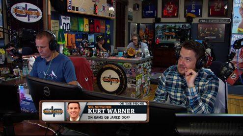 Kurt Warner breaks down Pats-Texans, looks back at start of his career