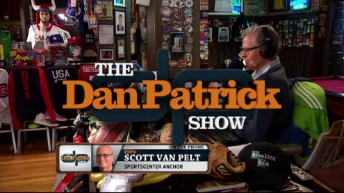 Scott Van Pelt looks back at Dan's infamous ESPN visit last year