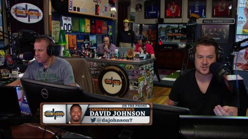 Dan and Danettes give Cardinals RB David Johnson a nickname