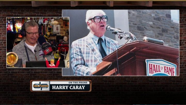 Harry Carray calls in from Heaven to talks Cubs