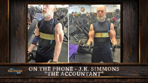 J.K. Simmons can bench press more than you