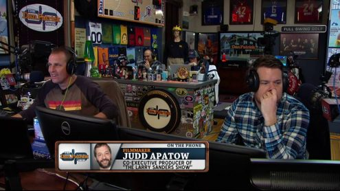 Judd Apatow on binge-watching, first pitch fears, hoarding, Larry Sanders