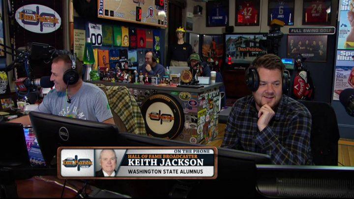 """Keith Jackson explains origins of """"Whoa Nellie"""""""