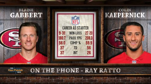 Ray Ratto on Colin Kaepernick being named starter