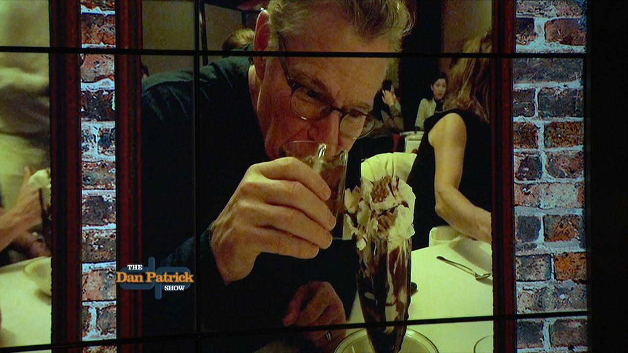 Always a good time for a hot fudge sundae