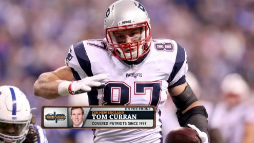 Pats' Tom Curran on impact of Gronk's injury